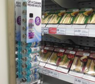 Tesco GFU Listerine Point of Sale Display