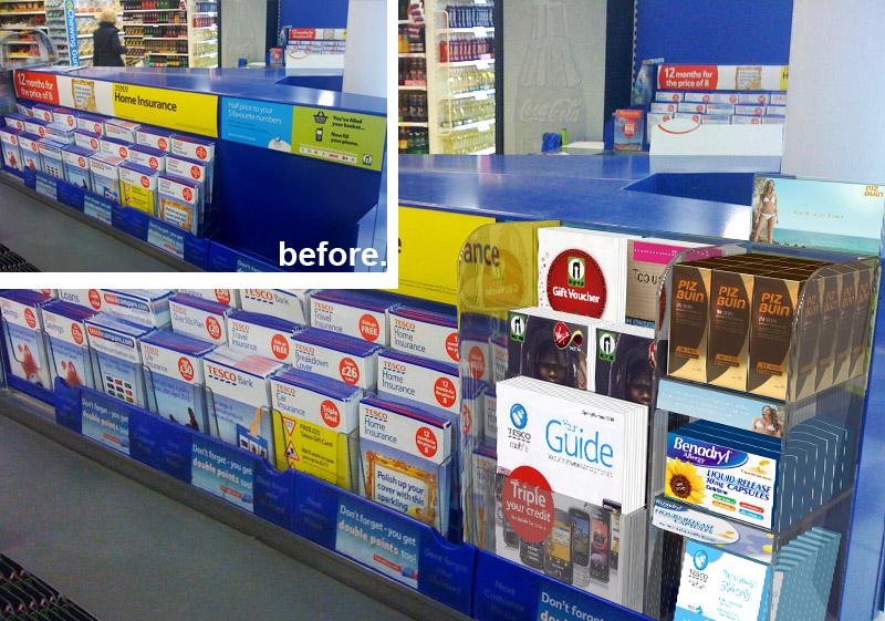 Bespoke Point of Sale Display Manufacturers |POS Designers